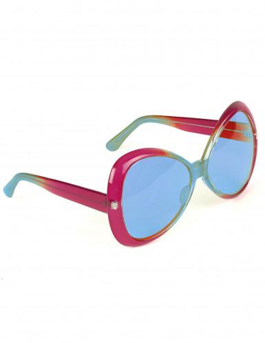 Óculos estilo disco adulto
