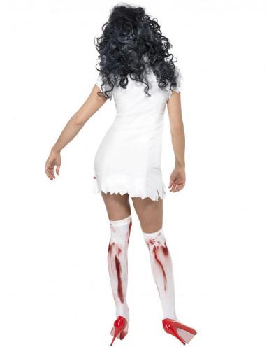 Disfarce de enfermeira zombie para mulher Halloween-2