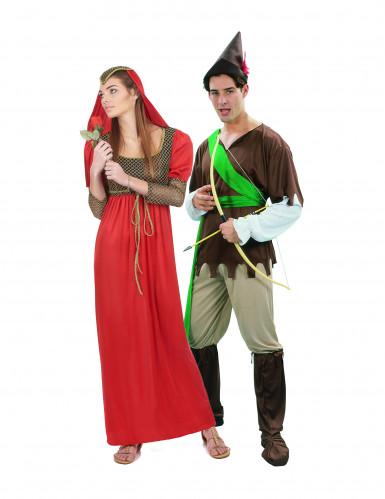 Disfarce casal medieval