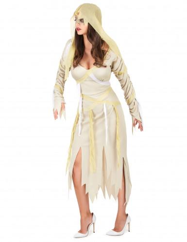 Disfarce múmia mulher para Halloween