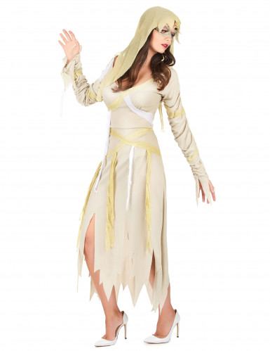 Disfarce múmia mulher para Halloween-1