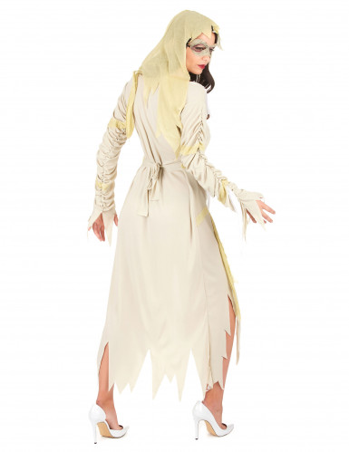 Disfarce múmia mulher para Halloween-2