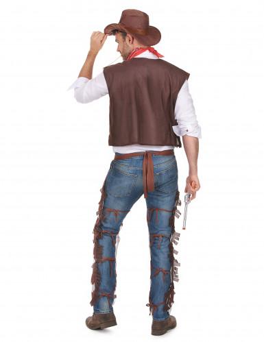 Disfarce de cowboy homem-2