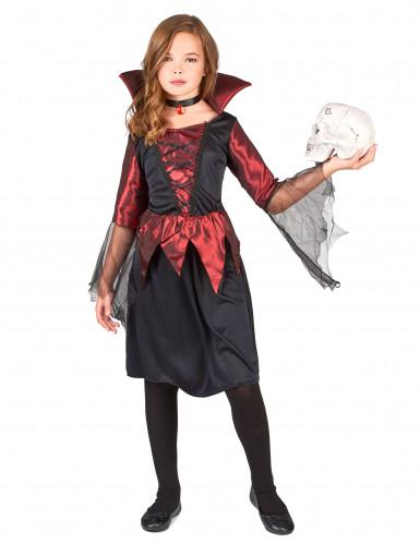 Disfarce vampiro menina Halloween