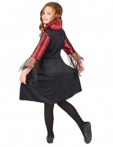 Disfarce vampiro menina para Halloween-2