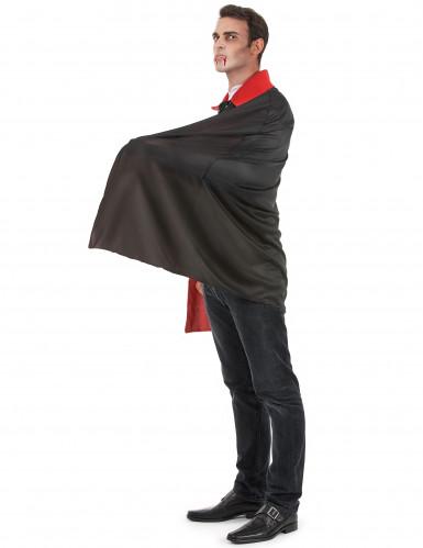 Disfarce vampiro cinzento homem Halloween-1