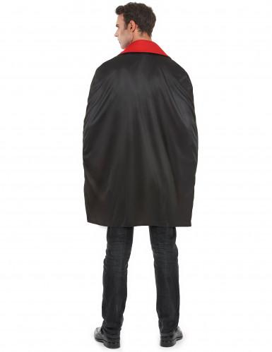 Disfarce vampiro cinzento homem Halloween-2