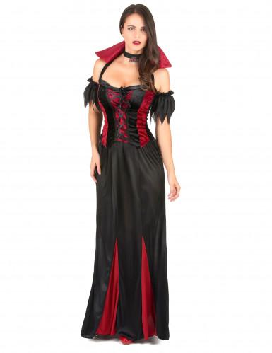 Disfarce vampira mulher para Halloween