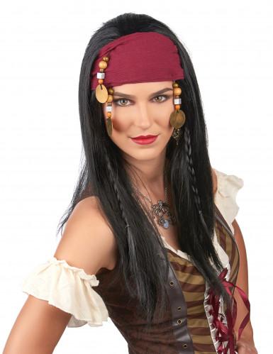 Peruca de pirata mulher-1
