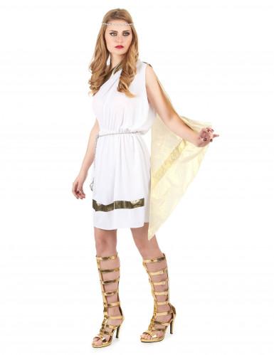 Disfarce de deusa romana mulher-1