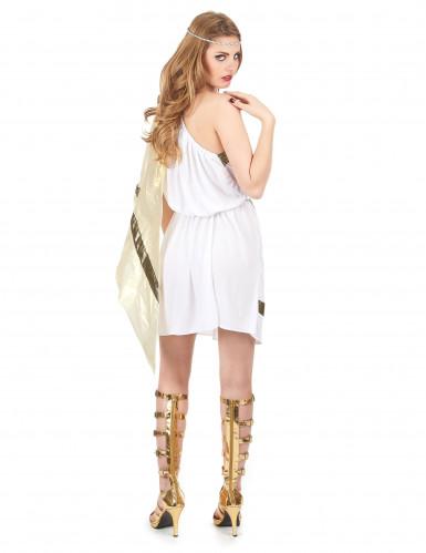 Disfarce de deusa romana mulher-2