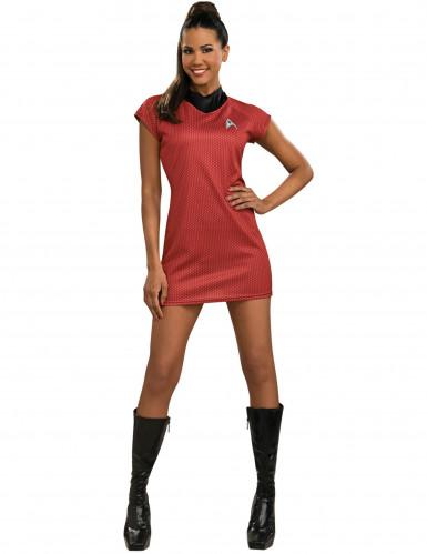 Disfarce vermelho Star Trek™ mulher