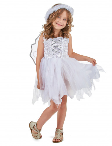 Disfarce anjo princesa menina