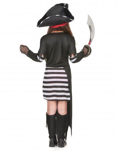 Disfarce de pirata capitã menina-2