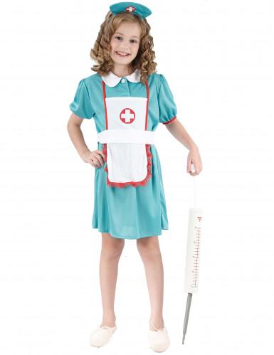 Disfarce de enfermeira para rapariga
