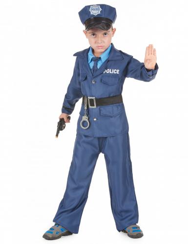 Disfarce de polícia para rapaz