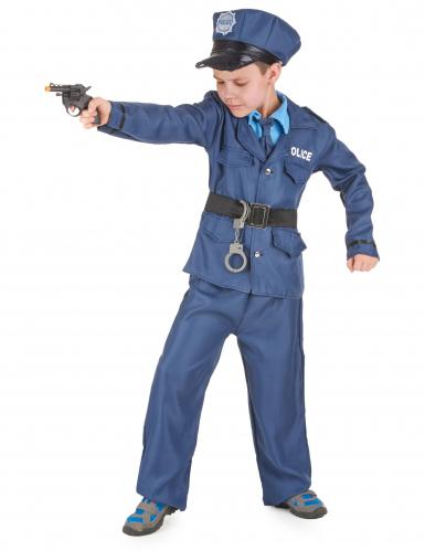 Disfarce de polícia para rapaz-1