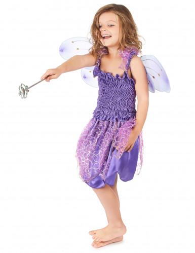Disfarce de fada violeta menina-1