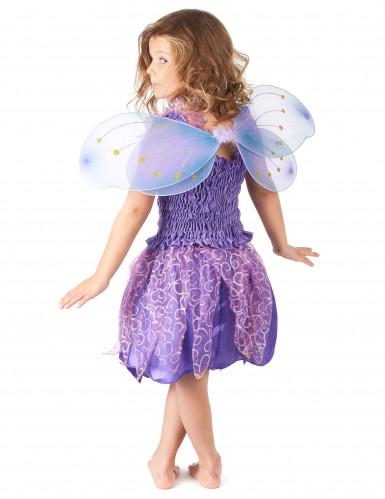 Disfarce de fada violeta menina-2