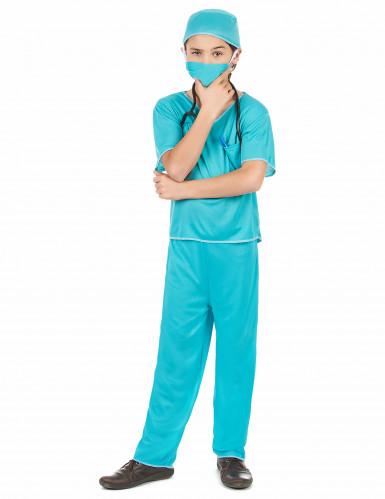 Disfarce de cirurgião para rapaz