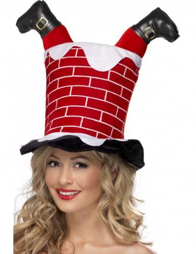Chapéu de Natal humorístico adulto
