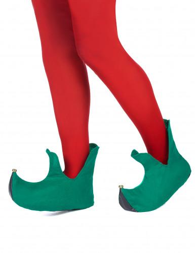 Sapatos de duende adulto Natal