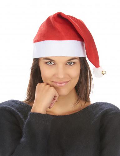 Gorro de Natal com chocalho adulto-2