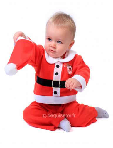 Disfarce Pai Natal para bebé