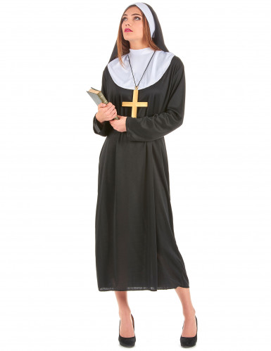 Disfarce de casal monge e freira-2