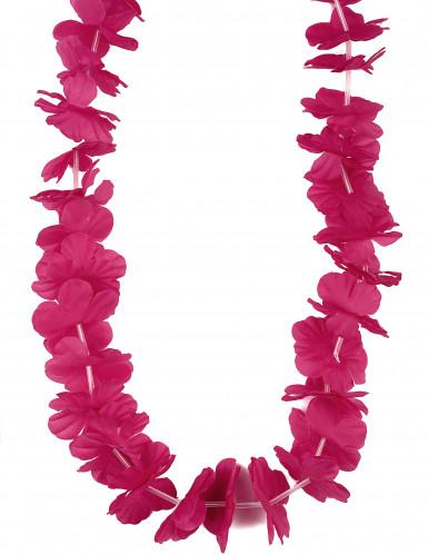 Colar Havai cor-de-rosa adulto
