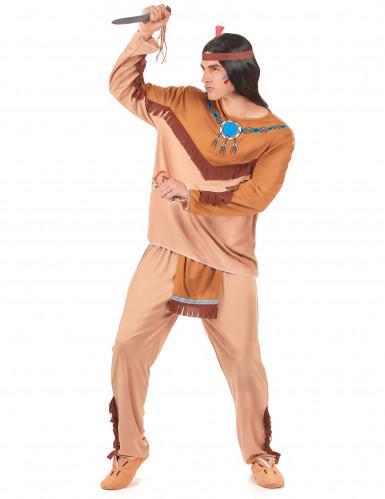 Disfarce de casal índios adulto-1