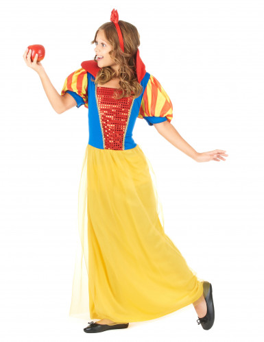Disfarce de princesa conto de fadas menina-1