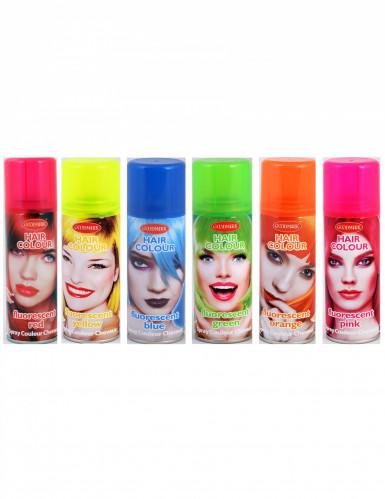 Spray de tinta fluorescente para cabelo
