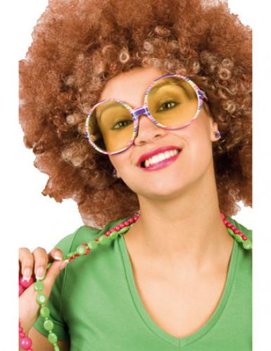 Óculos hippie para adultos