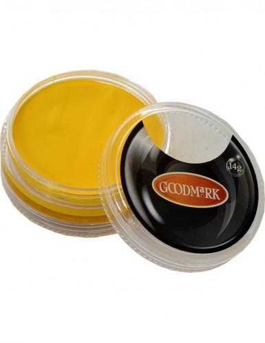 Maquilhagem de água amarelo