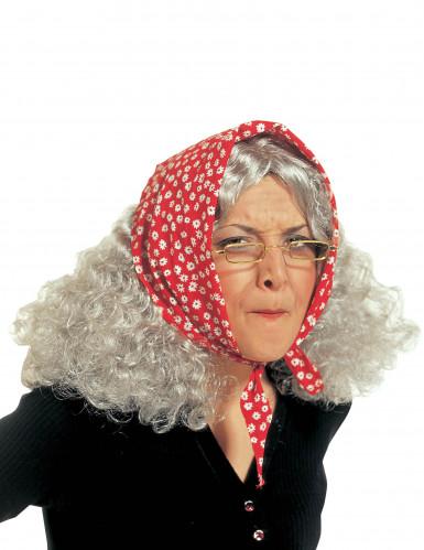 Peruca de velha mulher