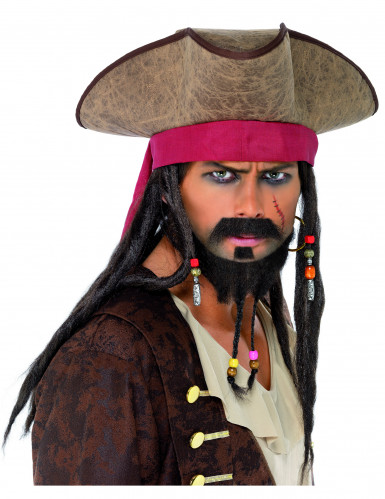 Chapéu de pirata homem