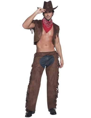 Disfarce de cowboy sexy para homem