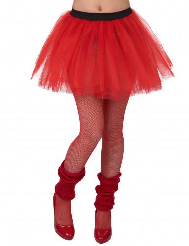 Tutu vermelho mulher