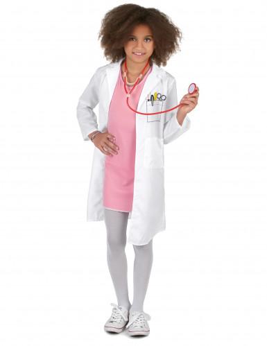 Disfarce médica menina
