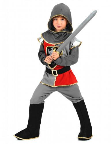 Disfarce de cavaleiro do renascimento rapaz-1