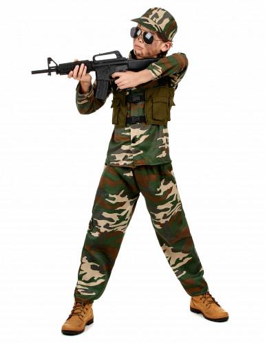 Disfarce de soldado para menino-1