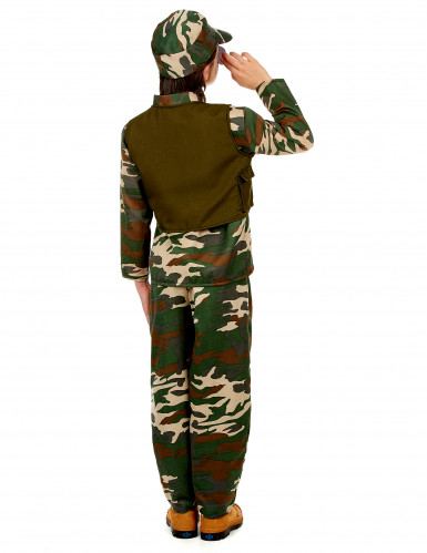 Disfarce de soldado para menino-2