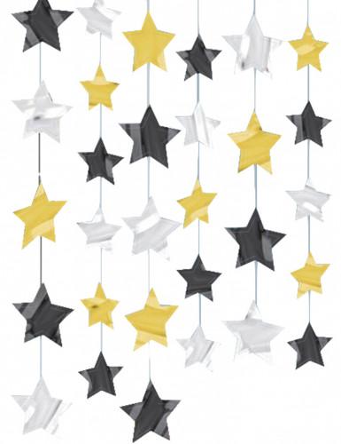 Decoração de pendurar estrelas