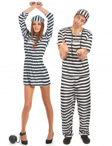 Disfarce casal prisioneiros