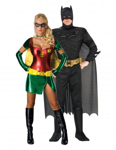 Disfarce de casal Batman™ e Robin™
