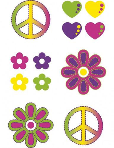 Tatuagens temporárias hippies-1