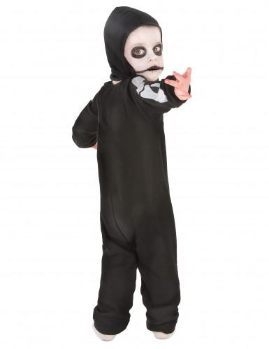 Disfarce esqueleto rapaz Halloween-2