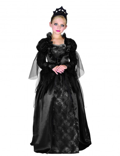 Disfarce condessa Halloween menina