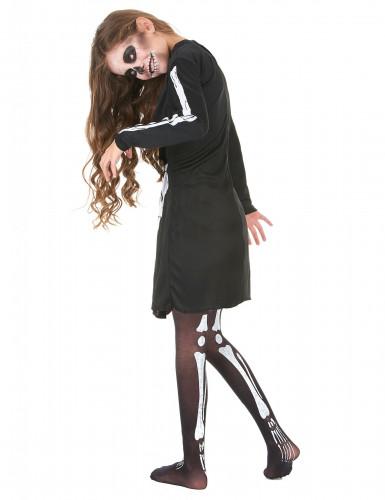 Disfarce esqueleto menina Halloween-2